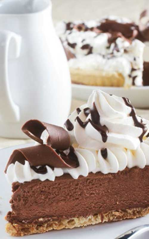 A pie shop classic that's easily made at home. Give thisClassic French Silk Pie a try with this easy-to-follow recipe!