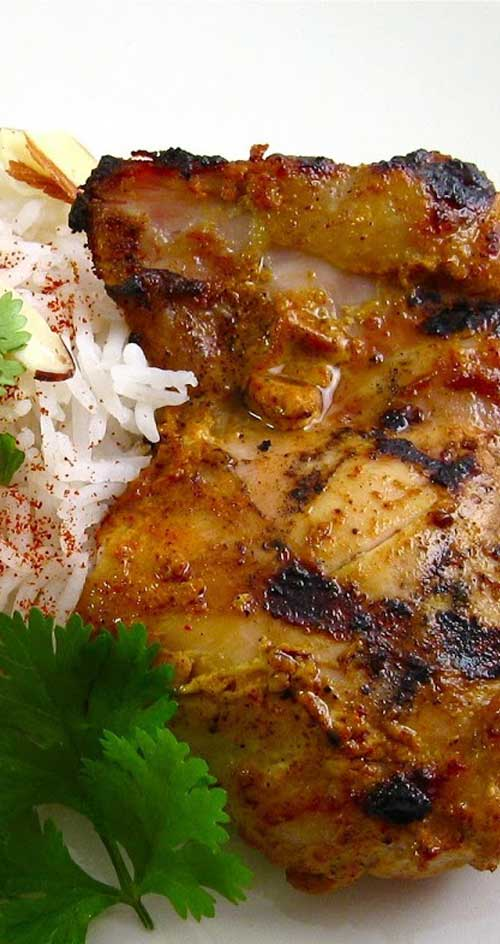 Cooked either on a stovetop grill pan or over a flame, this chicken is incredibly succulent and flavorful - a fantastic alternative to your run-of-the-mill barbecue sauce.