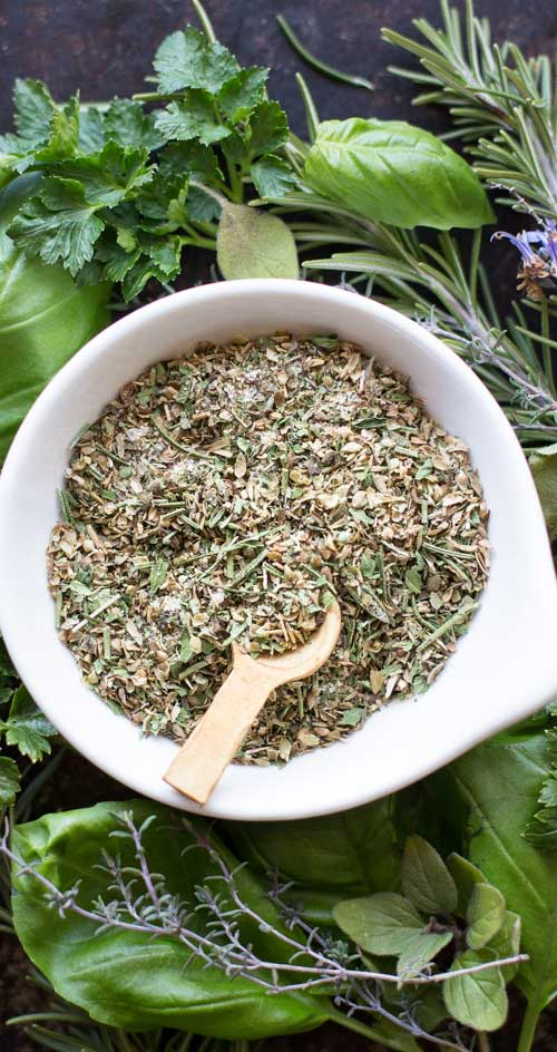 Recipe for Homemade Zesty Italian Seasoning and Dressing Mix - Creating your own delicious Italian seasoning and dressing at home is easy and quick with this recipe.