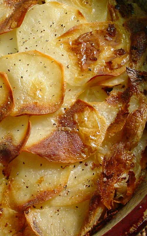 Light Scalloped Potatoes