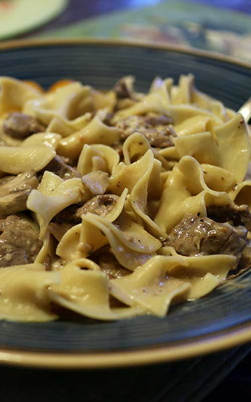 This 30-minute Easy & Delicious Beef Stroganoff recipe is comfort food at its best!