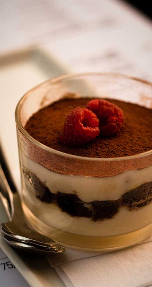 This simple recipe for Individual Tiramisu Parfaits comes together in only a few steps and the big finish you've been looking for.