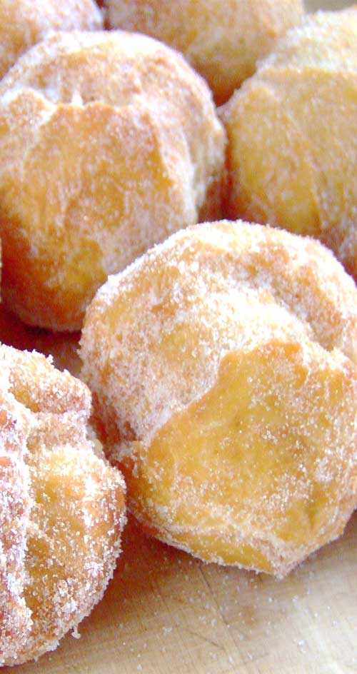 Malasadas are one of the all time favorite snacks. If you make these, prepare to rapidly become more popular with all of your friends.