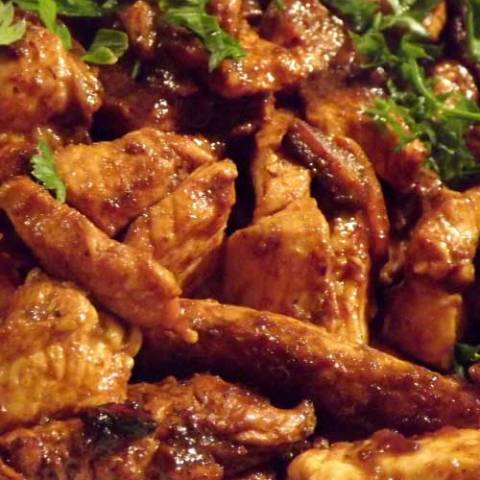 Recipe for Sauteed BBQ Chicken Breast - This is an easy to prepare dish that is sure to delight everyone with the taste of summer.