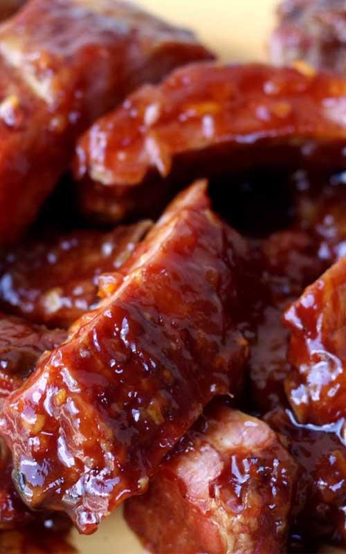 BBQ Marmalade Ribs