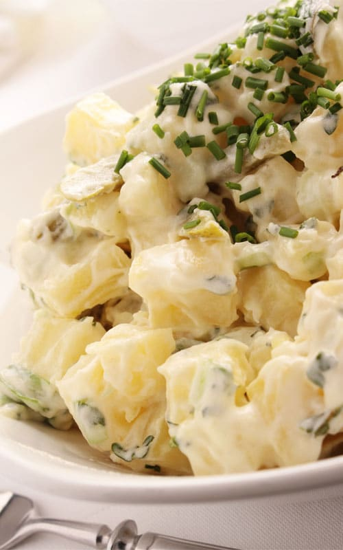 Classic Potato Salad with Chives