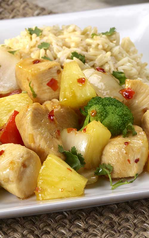 Thai Pineapple and Chicken
