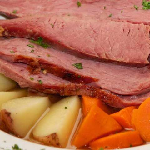 Recipe forCorned Beef and Cabbage -If you want an easy recipe for corned beef and cabbage to serve up this St. Patrick's Day, we have you covered. This dish has it all, and is prepared all in one pot. Any leftovers make for a great hash or sandwiches.