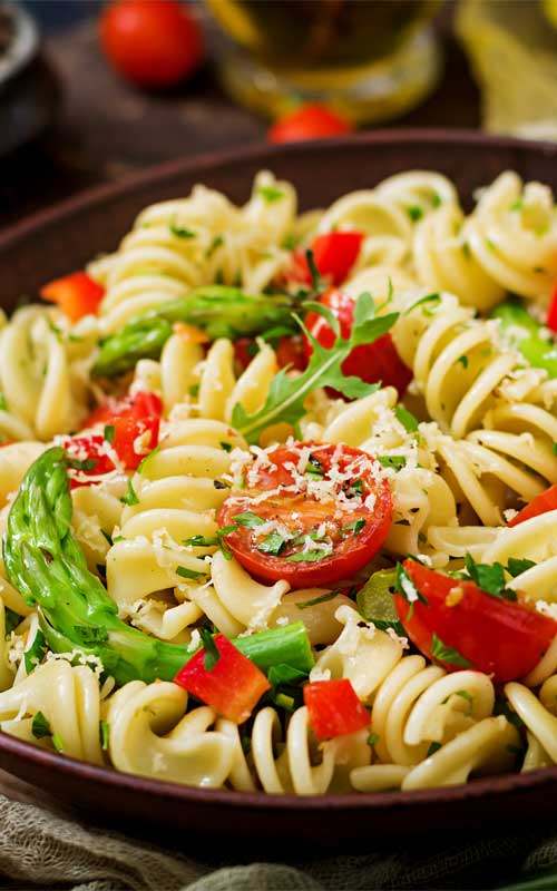 Quick, easy, and tasty! This Pasta Primavera with Spring Veggies can be made in under 20 minutes, and is a flavorful spring recipe that you and your family will savor.