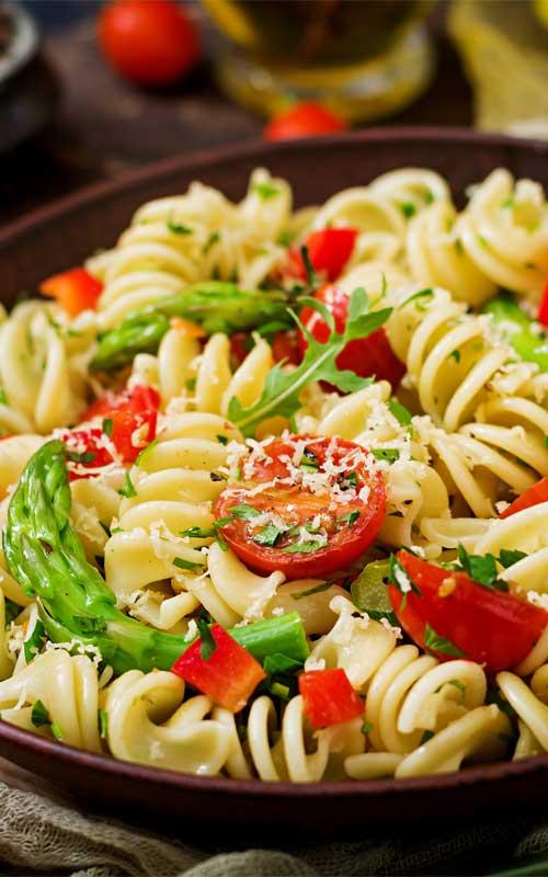 Pasta Primavera with Spring Veggies