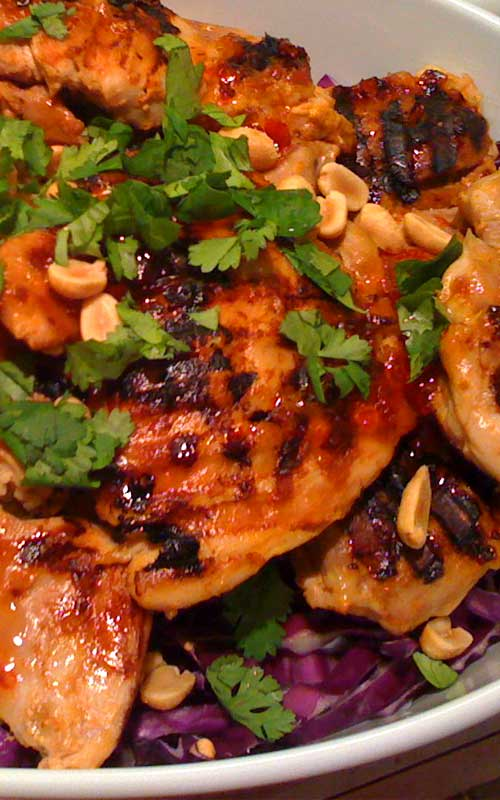 Thai-Spicy Tangy Chicken