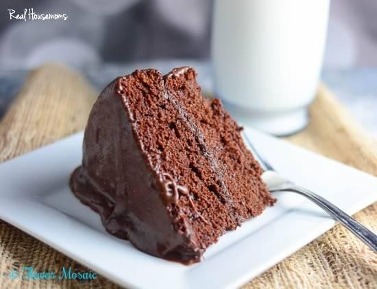 Moist Chocolate Layer Cake Flavor Mosaic