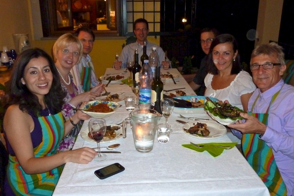 Flavor of Italy Culinary Team Building Dinner