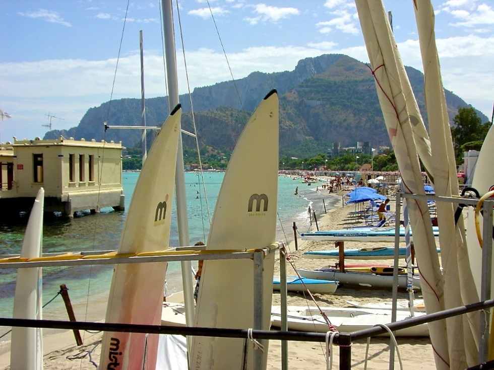 One of Sicily's numerous charming ports