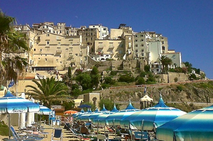 Sperlonga hill town view