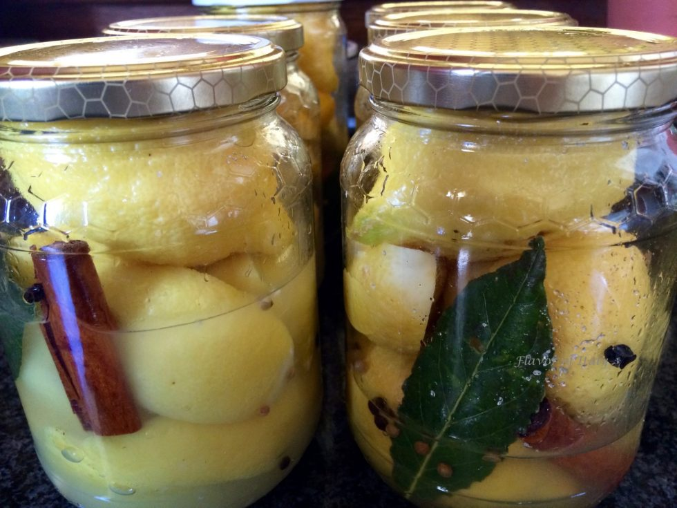 Preserved Lemons In Jars are great for making chicken tagine