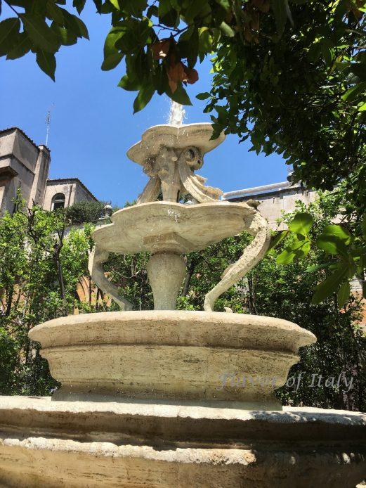 Fountain Palazzo Taverna
