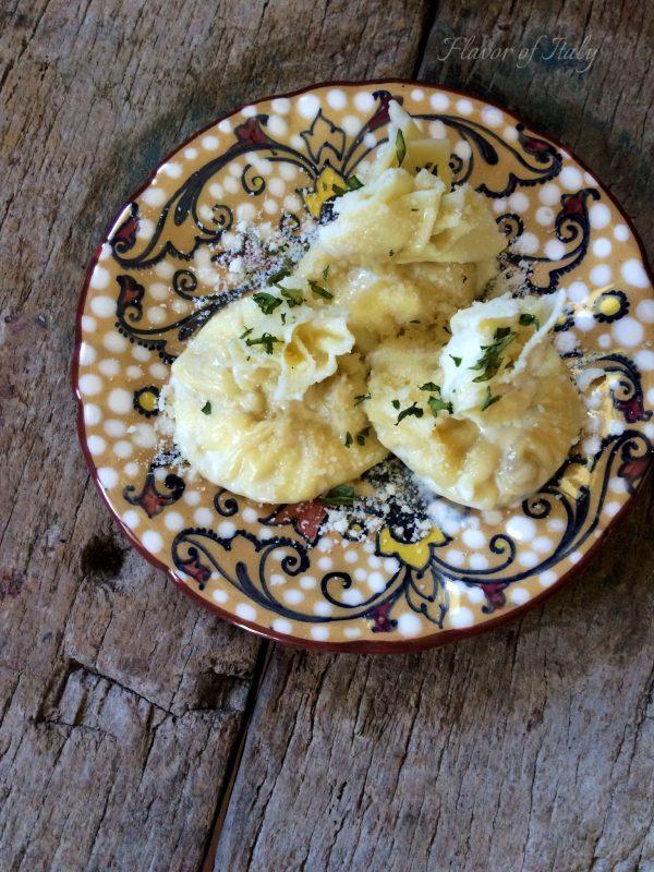 Pear and Ricotta Filled Fagottini
