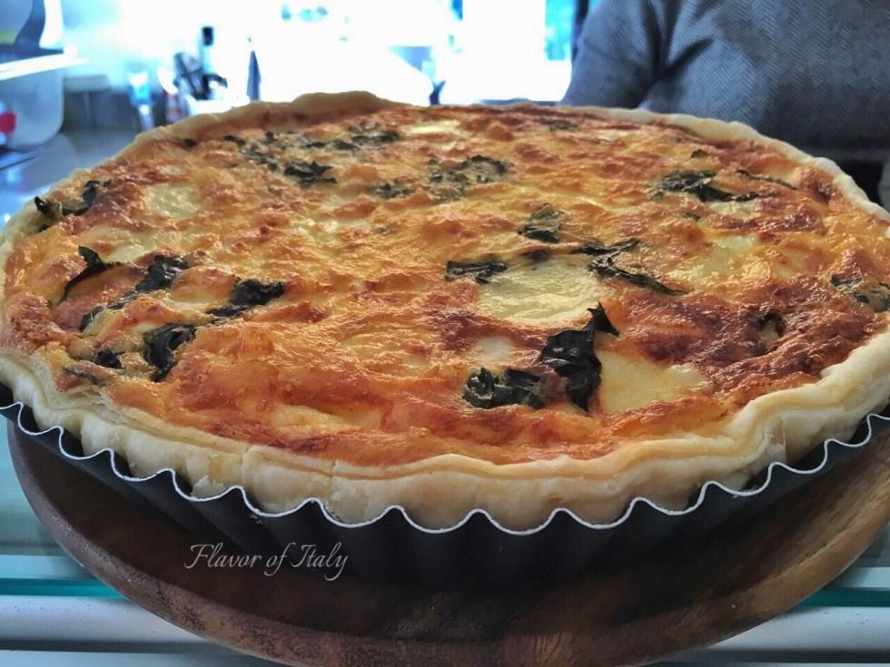 Torta rustica...quiche...in Positano