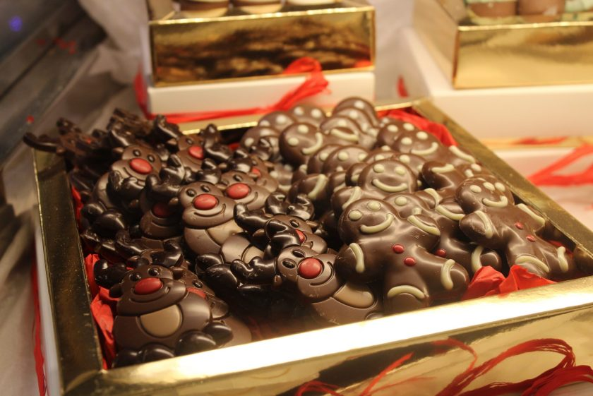 Christmas treats, Il Cigno, Parioli