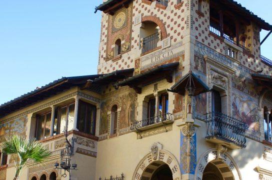 Fairy Cottages Piazza Mincio Coppedé neighborhood