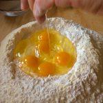 Making homemde pasta