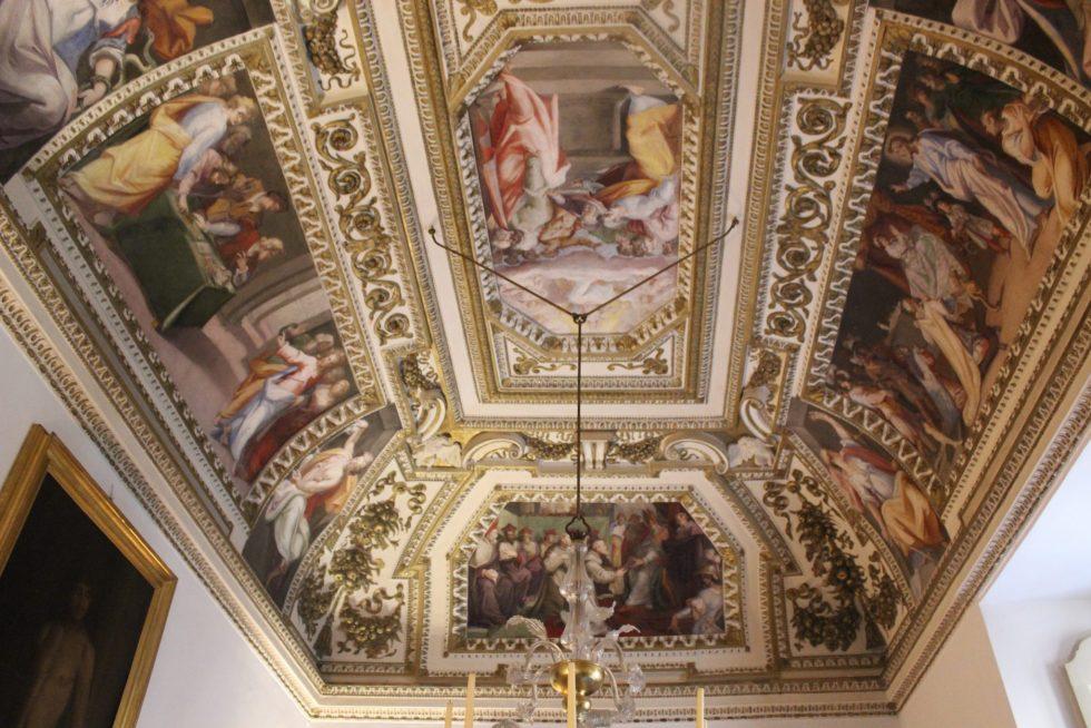 Palazzo Caetani Chapel and Antechapel. Note the