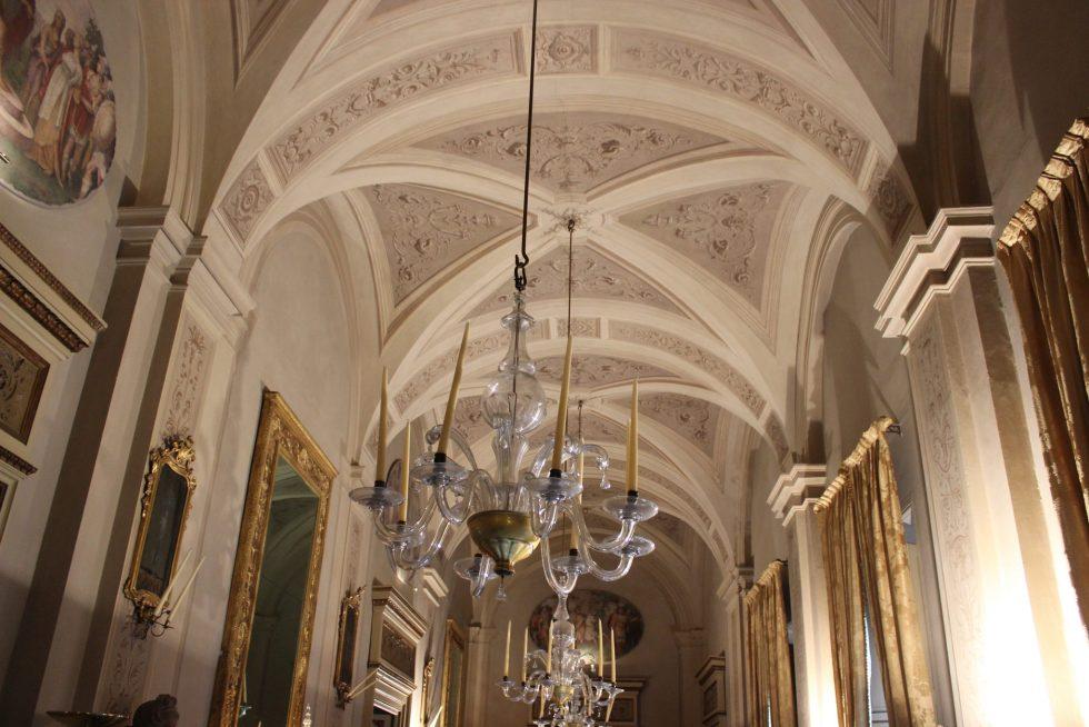 Palazzo Caetani piano nobile entrance hall