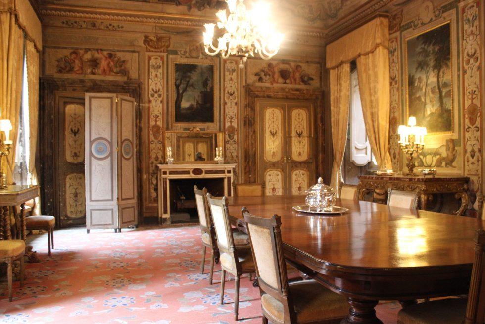 Palazzo Caetani Sala da Pranzo