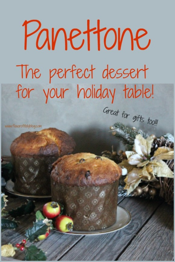 Christmas is around the corner and once again it's time to make panettone, the Italian classic sweet bread loaf that you find on every Italian table during the holidays!