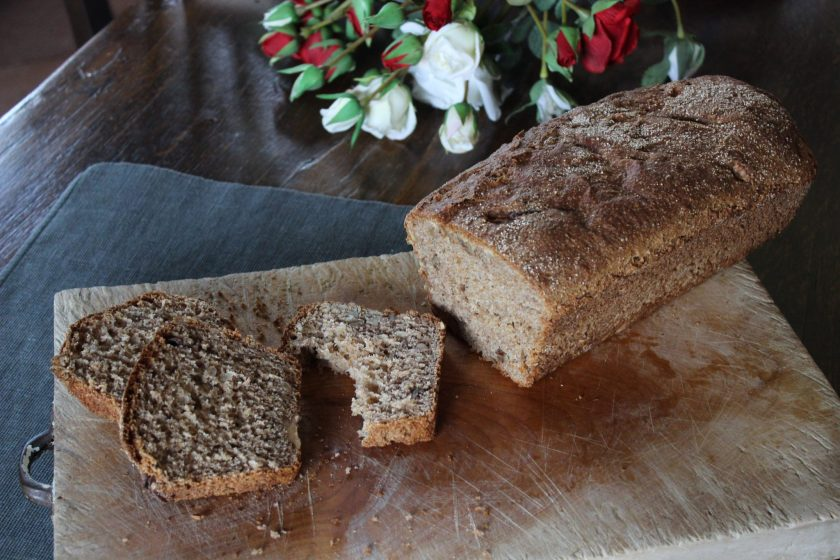 Once you've tried this Whole-grain Farro Nut Bread  you won't want any other bread; it's delicious, nutty flavor is irresistable!