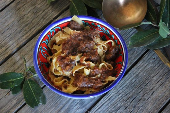 Pappardelle and Wild Boar Sauce is a hearty and satisfying winter dish
