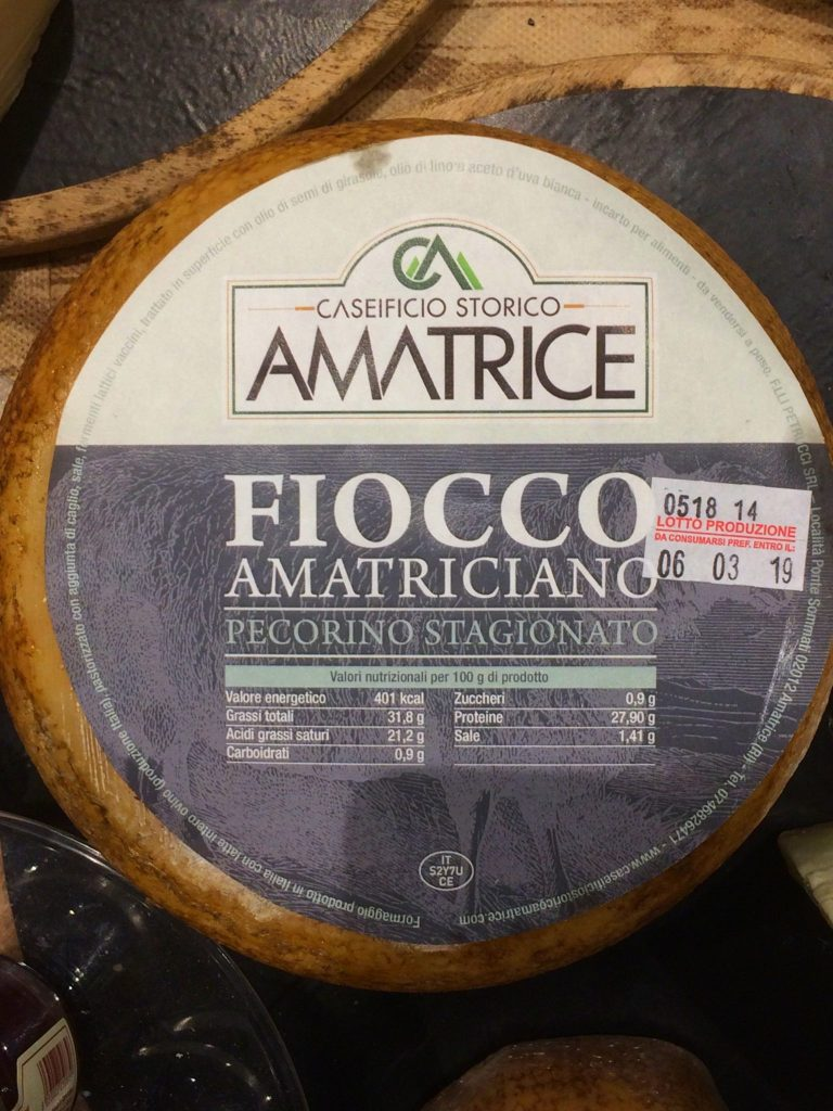 pecorino cheese stagionato
