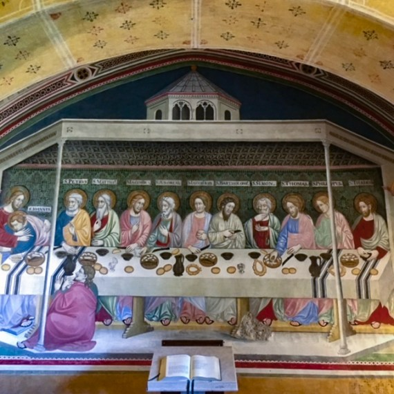 Saint Benedict Monastery Subiaco Last Supper painting