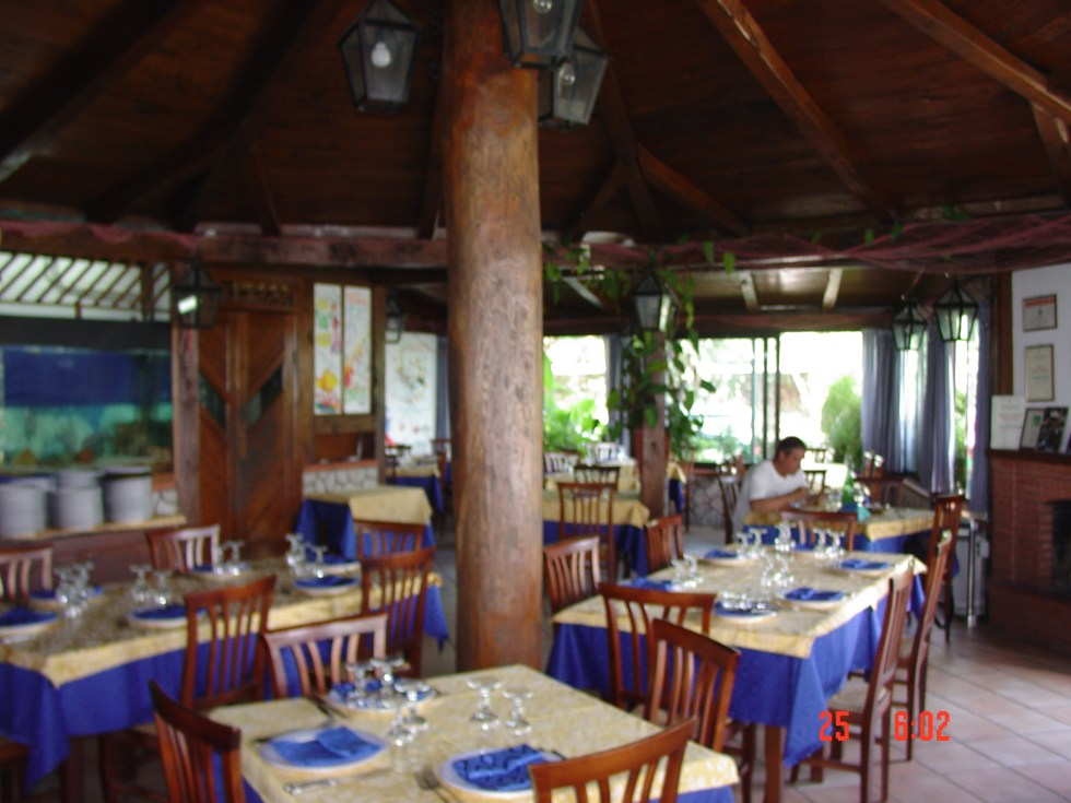 Waterfront restaurant in Diamante Calabria