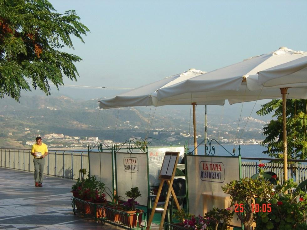 Diamante seaside cafes