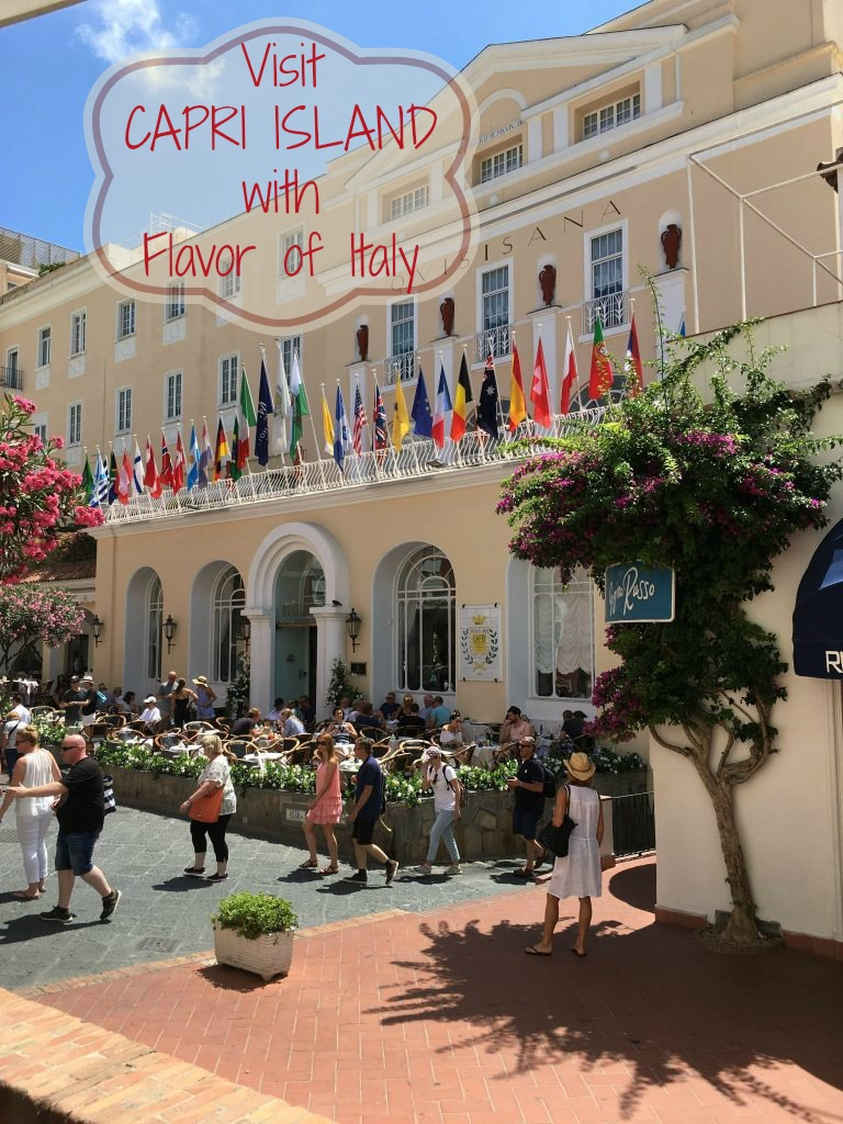 Capri's Quisisana Hotel in the island's central piazza