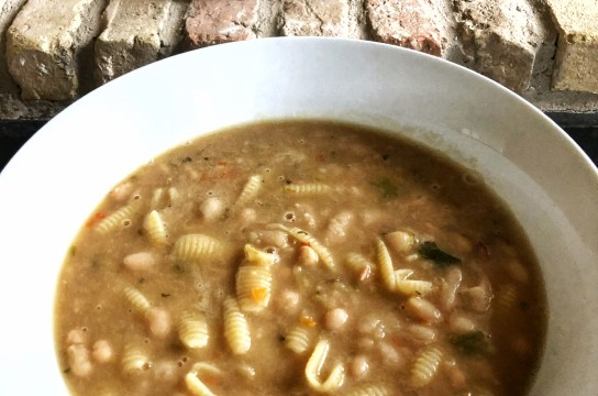 Pasta and bean soup: Simple, hearty, and delicious!