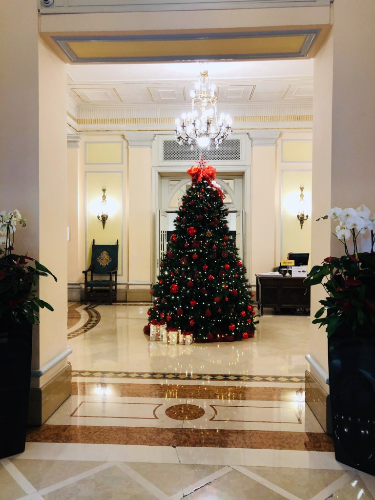 Hotel Ambasciatore Christmas tree 2019