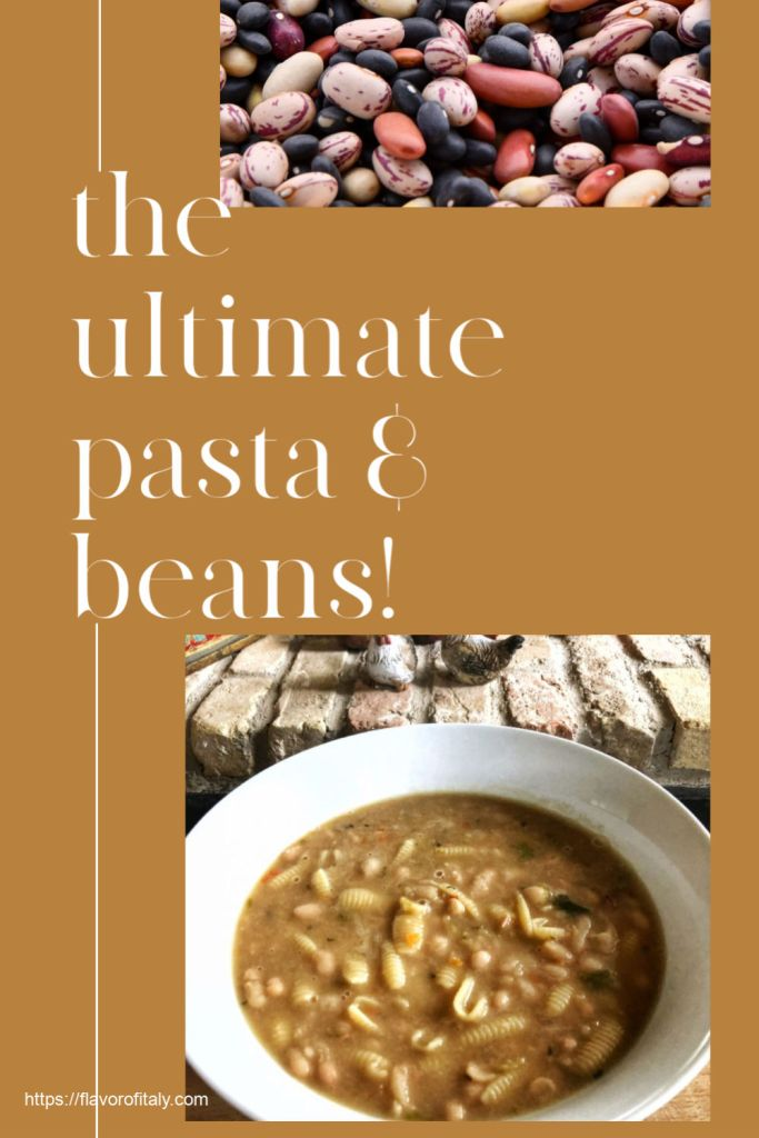 Pasta and Beans - a great winter soup!