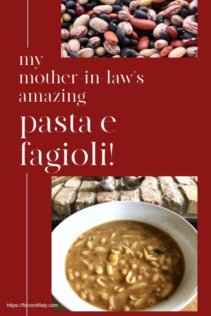 Pasta e fagioli è un piatto perfetto per l'inverno