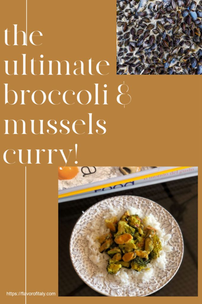 Luscious Broccoli and Mussel Curry