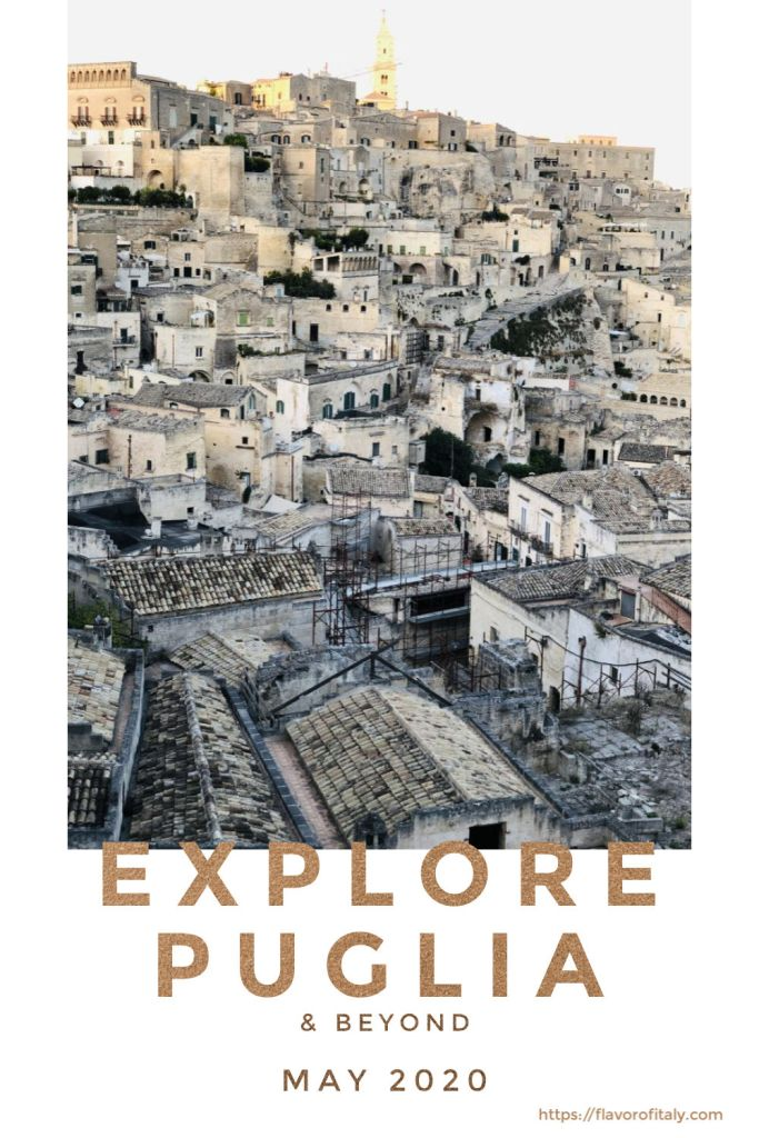 Explore magical Matera with me this spring and fall!
