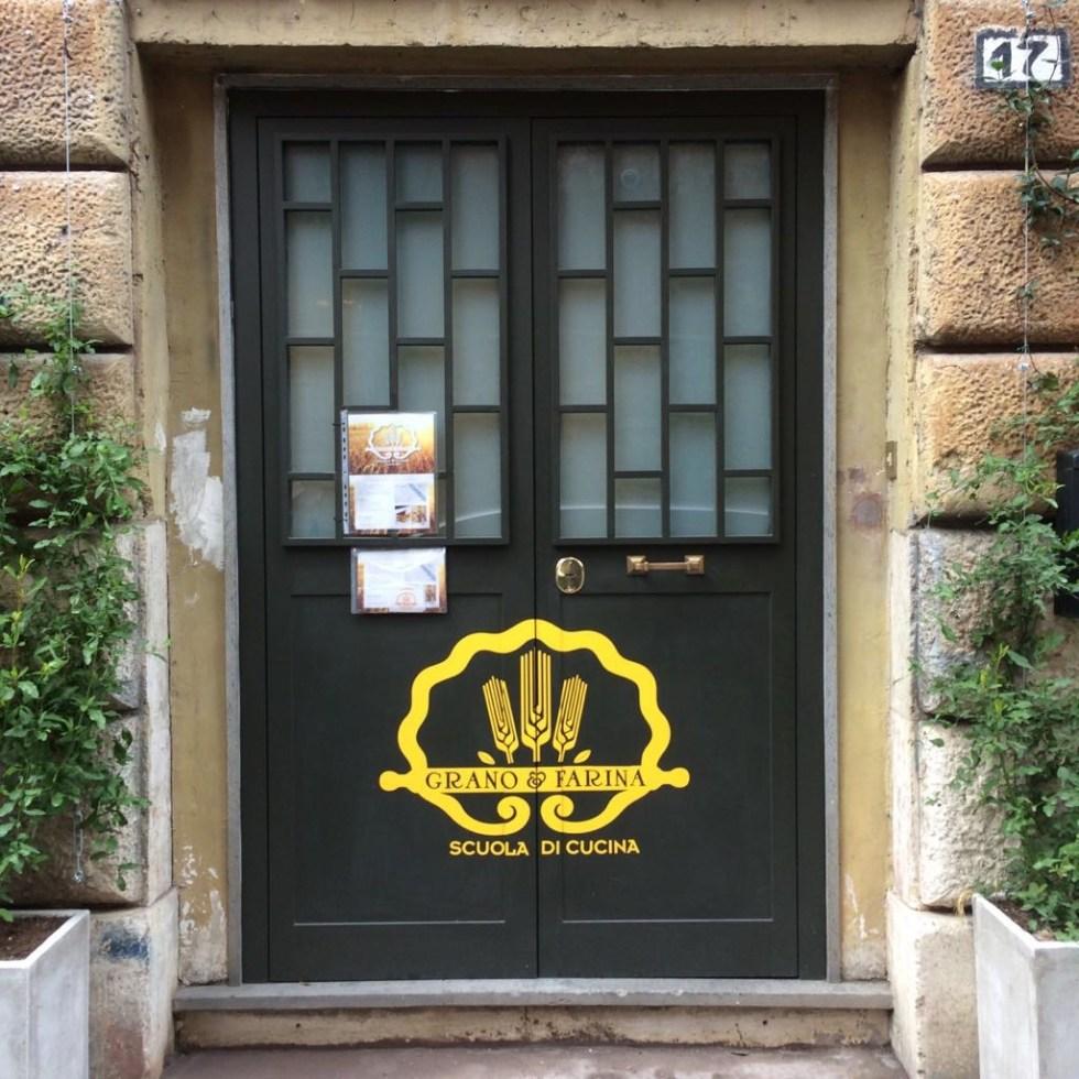 Grano & Farina Cooking School in Rome