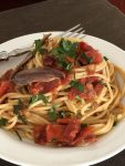 Make in 20 minutes! Spaghetti with a Spicy Tomato Anchovy Sauce