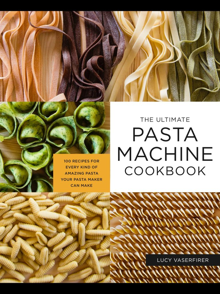 The Ultimate Pasta Machine Cookbook is one of my cookbook bibles!