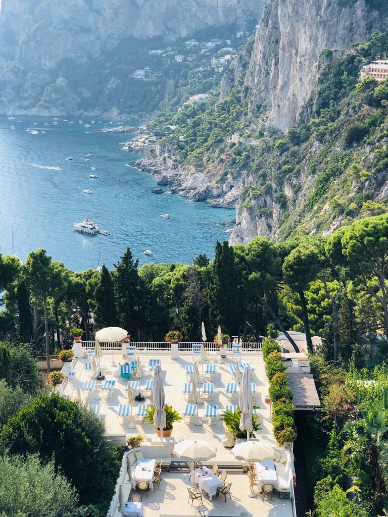 Villa Brunella and its magnificent view of Marina Piccola