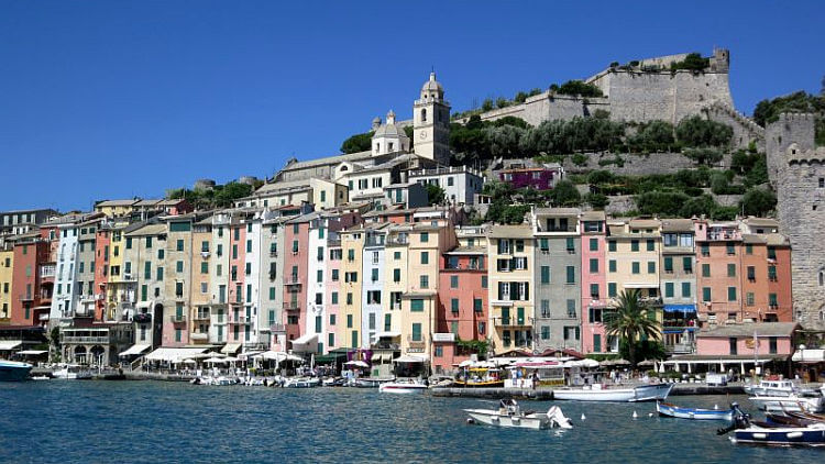Portovenere,  one of the Towns and villages Liguria