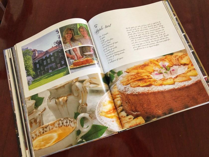 Beautiful recipe and Italian lifestyle cookbook by Violante Guerrieri Gonzaga