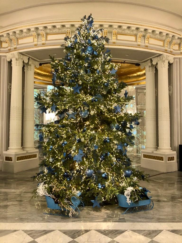 Hotel de la Ville Christmas tree 2020